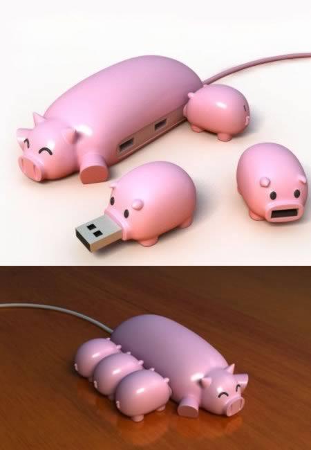 10 loại cổng USB độc đáo và dễ thương không ngờ 2