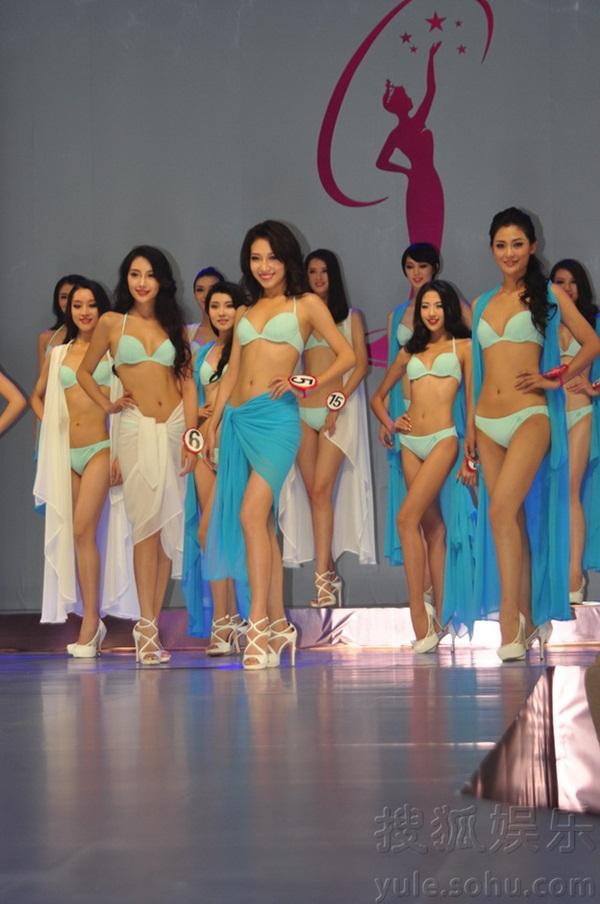 """Tân Hoa hậu Hoàn vũ Trung Quốc 2013 bị chê là """"thảm họa"""" 10"""