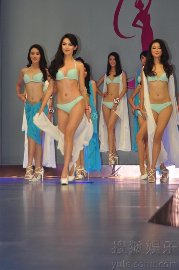"""Tân Hoa hậu Hoàn vũ Trung Quốc 2013 bị chê là """"thảm họa"""" 11"""
