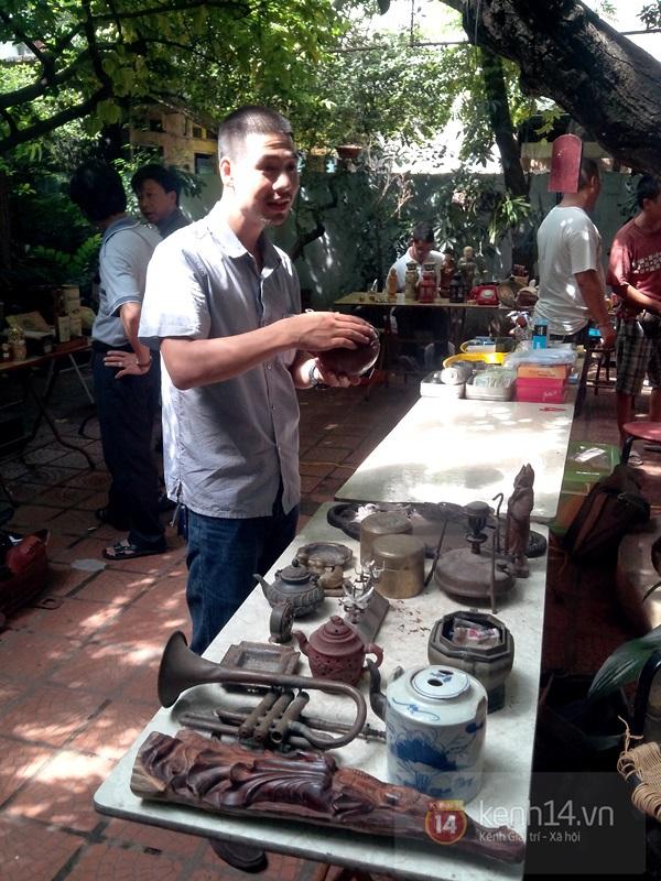 Săn hàng độc ở phiên chợ đồ cổ, đồ xưa đặc biệt giữa Hà Nội 15