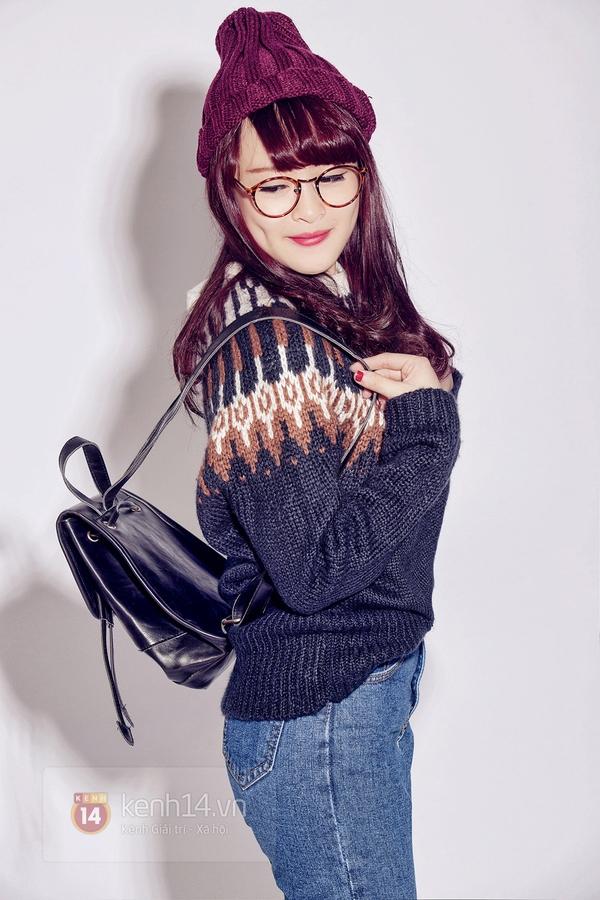 """How to: Style xinh xắn cho nàng """"nấm lùn"""" đi chơi cuối năm 3"""
