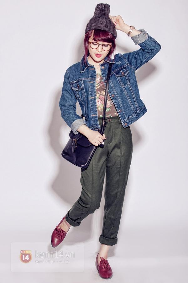 """How to: Style xinh xắn cho nàng """"nấm lùn"""" đi chơi cuối năm 8"""
