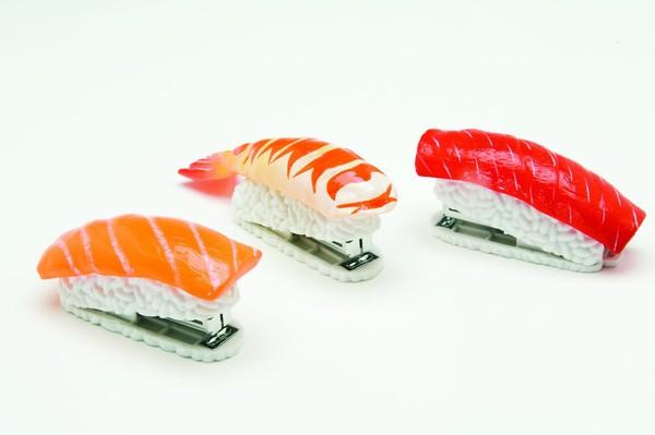 Dập ghim hình sushi 1