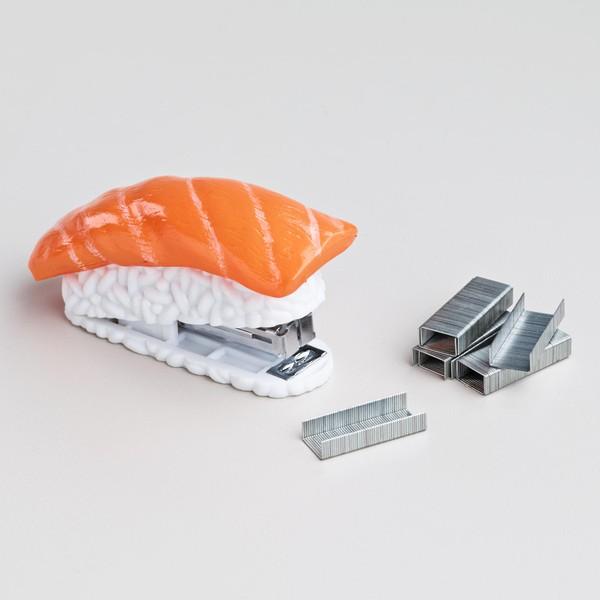 Dập ghim hình sushi 2