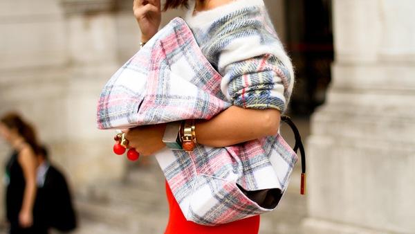 """9 cách mặc kẻ caro """"chuẩn"""" như fashionista 20"""