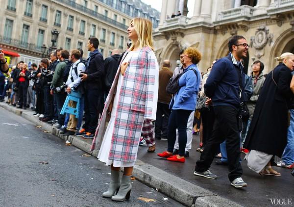"""9 cách mặc kẻ caro """"chuẩn"""" như fashionista 23"""
