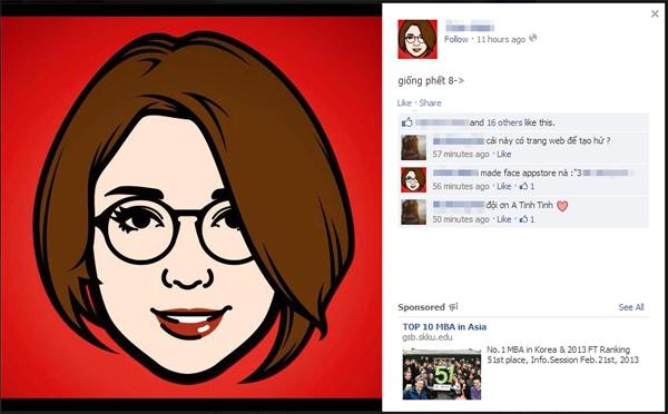 "iMadeFace - Trào lưu avatar ""độc"" trên Facebook 3"