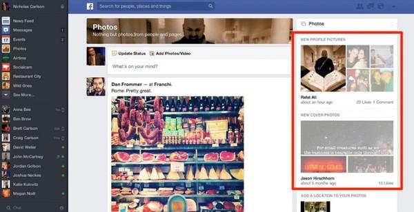 Săm soi giao diện mới cực ấn tượng của Facebook 10