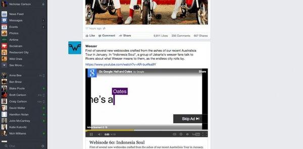 Săm soi giao diện mới cực ấn tượng của Facebook 13