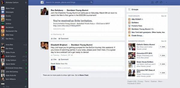 Săm soi giao diện mới cực ấn tượng của Facebook 14