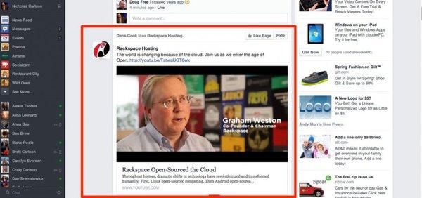 Săm soi giao diện mới cực ấn tượng của Facebook 4