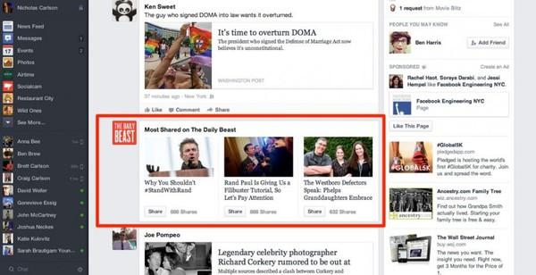Săm soi giao diện mới cực ấn tượng của Facebook 5