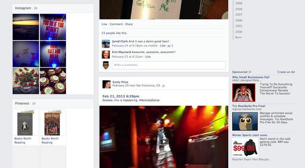 Facebook tiếp tục đổi giao diện mới 12