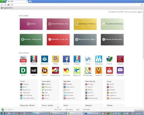 """Công cụ tìm kiếm Việt Cốc Cốc """"so găng"""" cùng đại gia Google 1"""