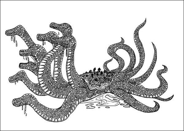 Huyền thoại quái vật rắn 8 đầu 8 đuôi ở Nhật Bản 3