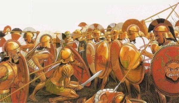 Đội quân đồng tính bất bại thời Hy Lạp cổ đại 2