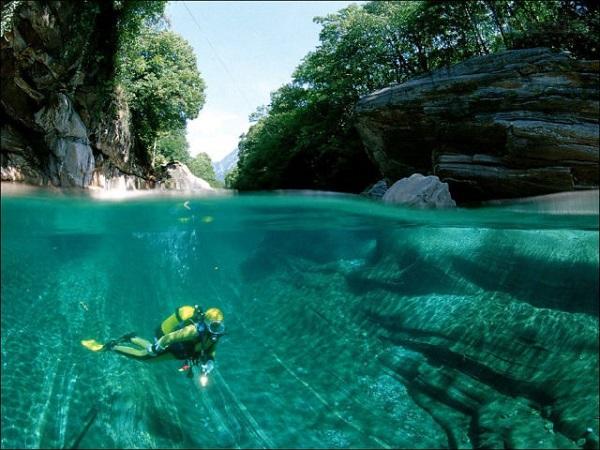 """Cảnh tượng tuyệt đẹp dưới những dòng sông """"trinh nữ"""" 7"""