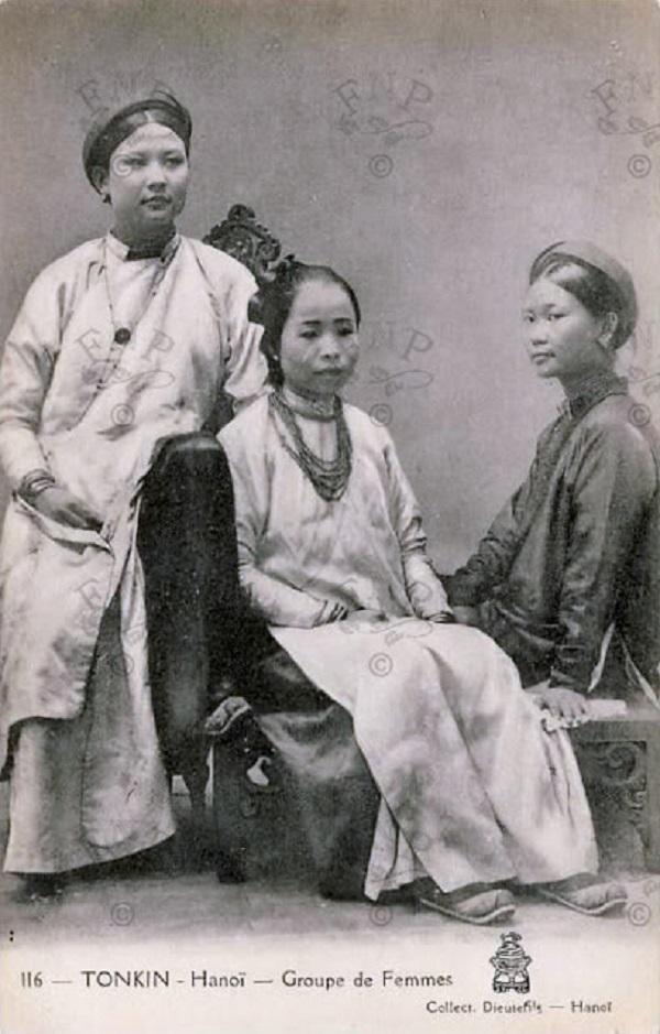 Vẻ đẹp phụ nữ Việt những năm đầu thế kỷ 20 4