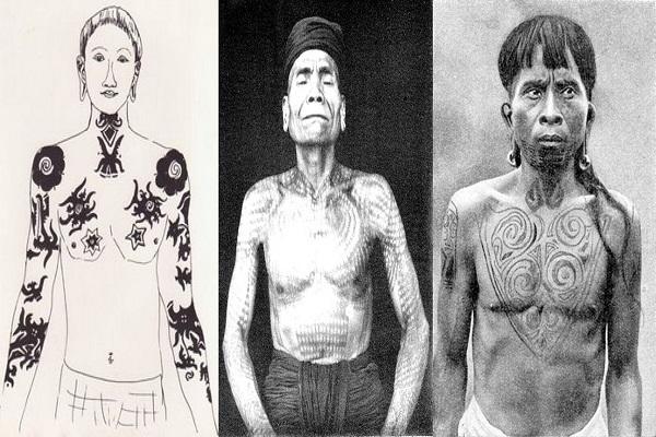 Thăm bộ tộc xăm mình đi săn đầu người thời xưa 6