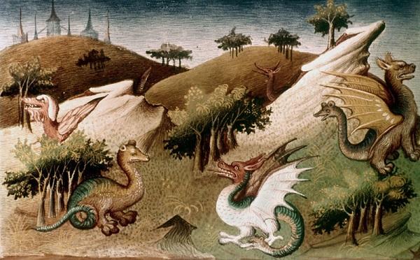 """Những ghi chép về loài rồng """"có thật"""" trong lịch sử 4"""