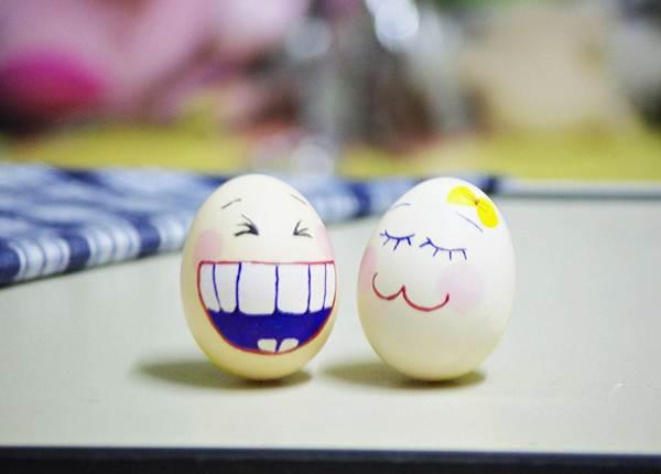 Lật đật làm từ vỏ trứng xinh xắn đáng yêu 11