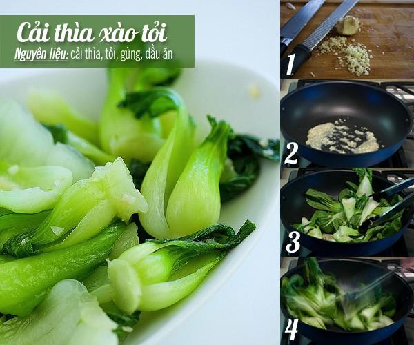 Ăn tối giản đơn với cá kho, rau xào trong ngày mưa 2
