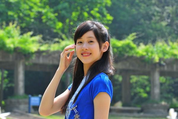 Những hot girl Trung Quốc có vẻ đẹp thiên thần 1