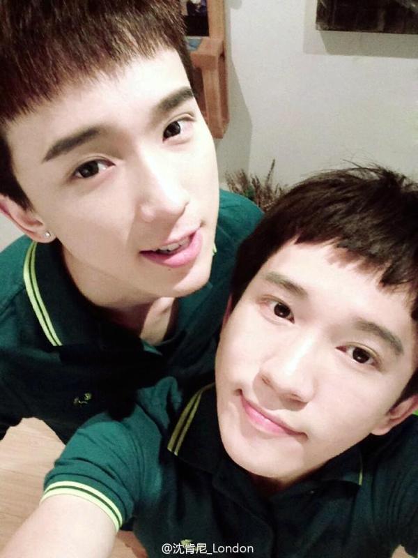 """3 cặp đôi đồng tính mỹ nam tại Châu Á """"đốn tim"""" cư dân mạng 14"""