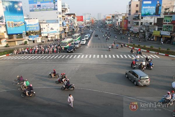 Toàn cảnh lễ thông xe cầu vượt thép đầu tiên tại TPHCM 16