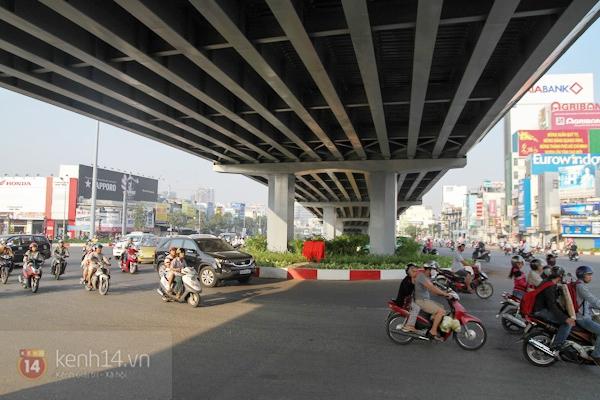 Toàn cảnh lễ thông xe cầu vượt thép đầu tiên tại TPHCM 19