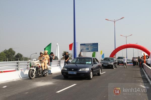 Toàn cảnh lễ thông xe cầu vượt thép đầu tiên tại TPHCM 10