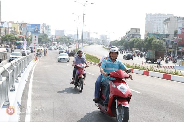 Toàn cảnh lễ thông xe cầu vượt thép đầu tiên tại TPHCM 25