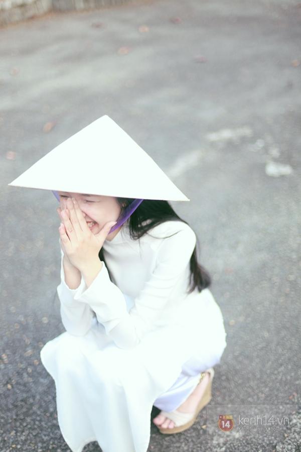 Chùm ảnh: Đẹp như nữ sinh xứ Huế 5