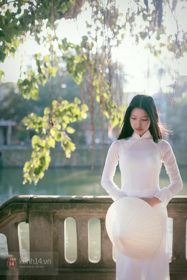 Chùm ảnh: Đẹp như nữ sinh xứ Huế 6