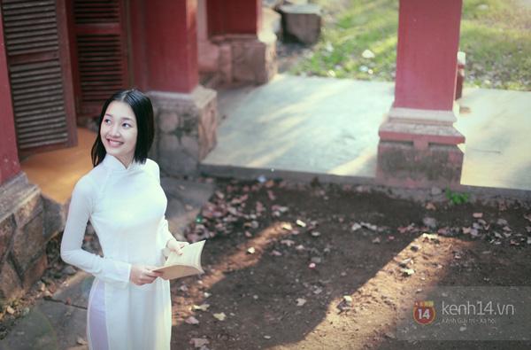 Chùm ảnh: Đẹp như nữ sinh xứ Huế 11