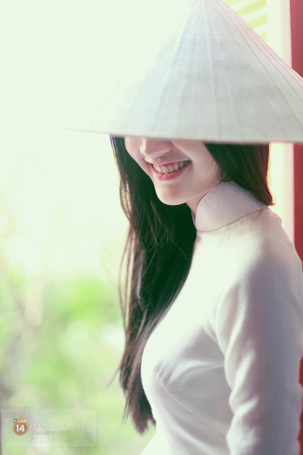 Chùm ảnh: Đẹp như nữ sinh xứ Huế 16