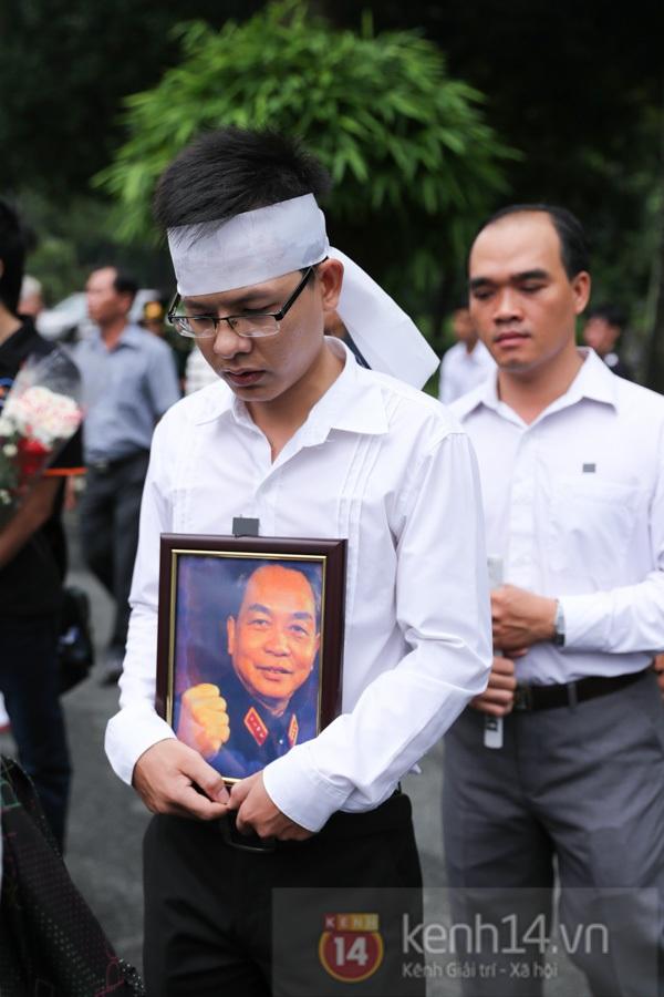TP.HCM: Không khí trang nghiêm và đầy cảm động trong lễ viếng Đại tướng 58