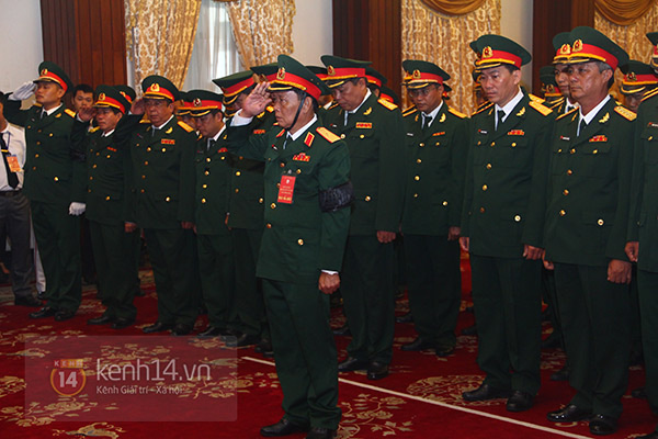 TP.HCM: Không khí trang nghiêm và đầy cảm động trong lễ viếng Đại tướng 34
