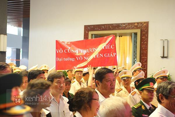 TP.HCM: Không khí trang nghiêm và đầy cảm động trong lễ viếng Đại tướng 42