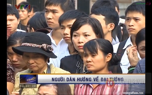 Hết giờ Lễ viếng Quốc tang, nhiều người dân vẫn xếp hàng vào viếng Đại tướng 60