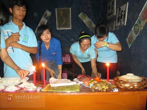 Buổi giao lưu văn hóa giữa trời mưa bão của sinh viên Đà Nẵng 8