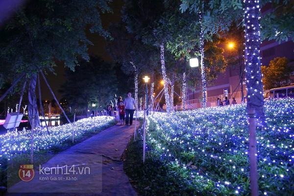 Sài Gòn: Ngỡ ngàng ngắm công viên sáng rực trong đêm với nửa triệu bóng đèn Led 4