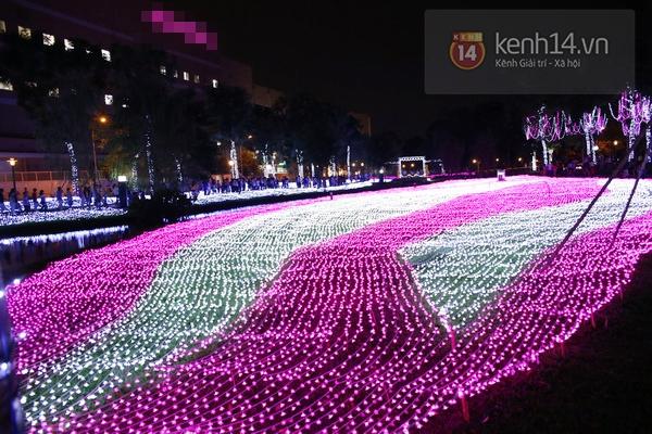 Sài Gòn: Ngỡ ngàng ngắm công viên sáng rực trong đêm với nửa triệu bóng đèn Led 17