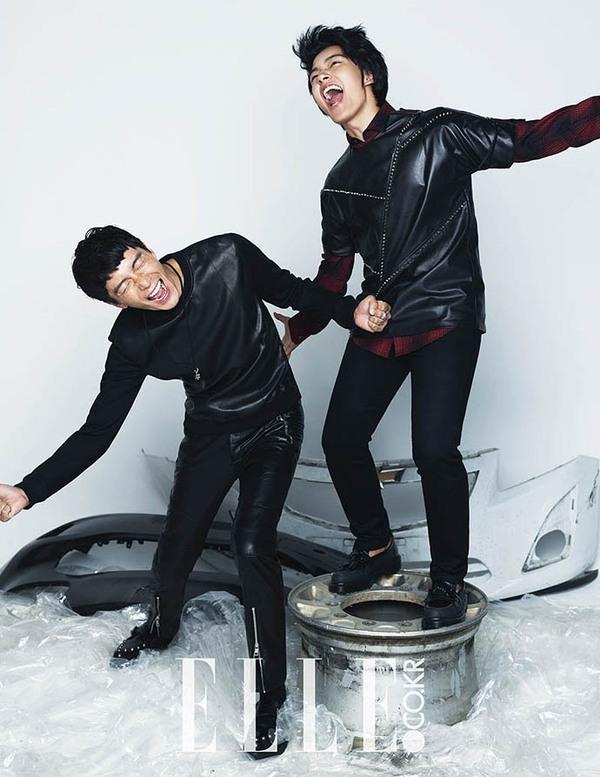 Lee Seung Gi lại dẫn đầu đoàn mỹ nam trên tạp chí tháng 1 7