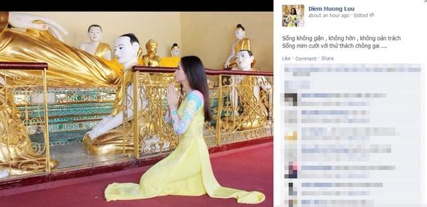 Hoa hậu Diễm Hương đã có chồng và bị chồng bỏ? 2