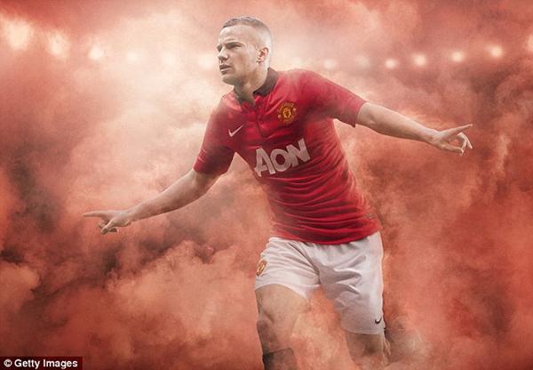 Hé lộ mẫu áo sân khách của Manchester United 5
