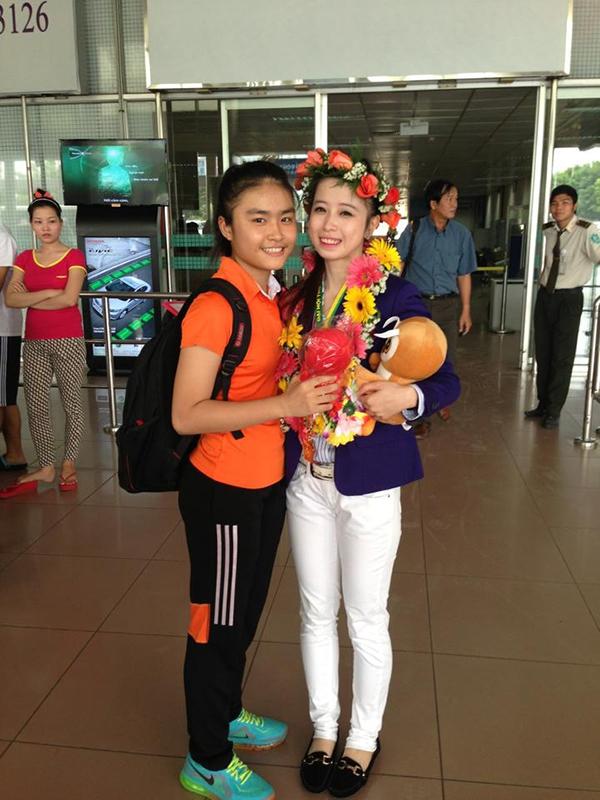 Hot girl Taekwondo Châu Tuyết Vân khoe loạt ảnh rạng rỡ ngày trở về 6