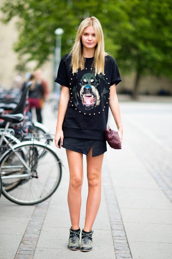 """Skort - Chiếc quần """"tràn ngập"""" street style thế giới Hè 2013 7"""