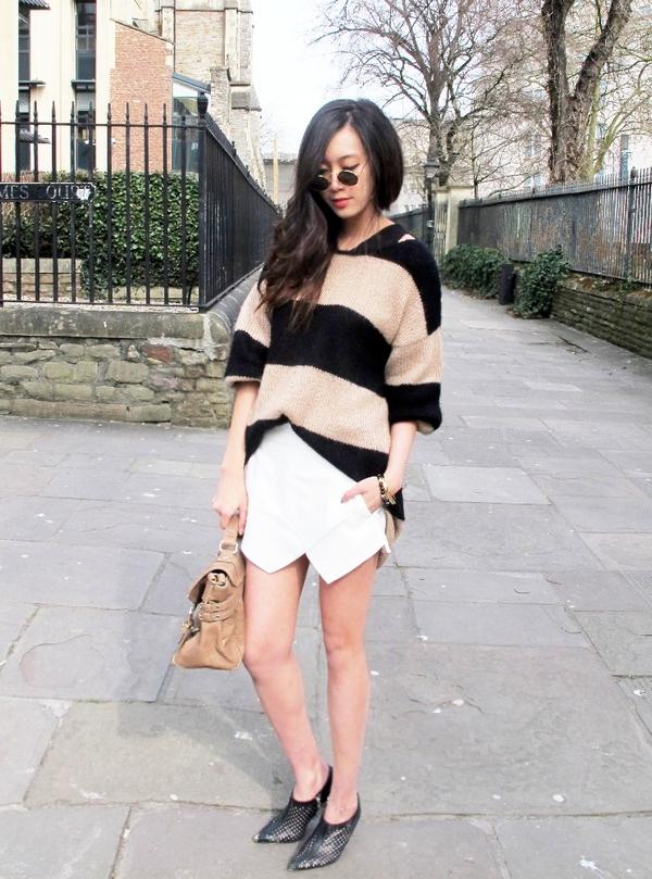 """Skort - Chiếc quần """"tràn ngập"""" street style thế giới Hè 2013 15"""