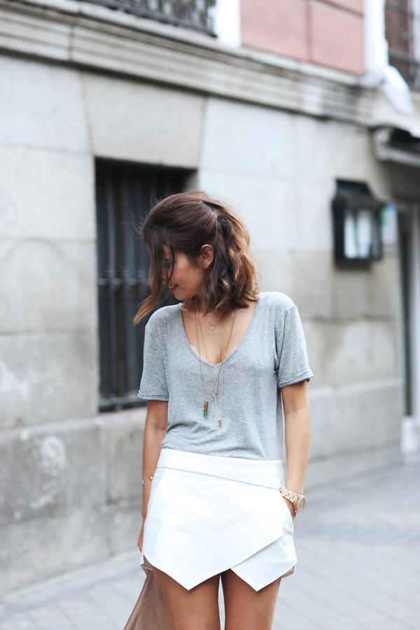 """Skort - Chiếc quần """"tràn ngập"""" street style thế giới Hè 2013 16"""